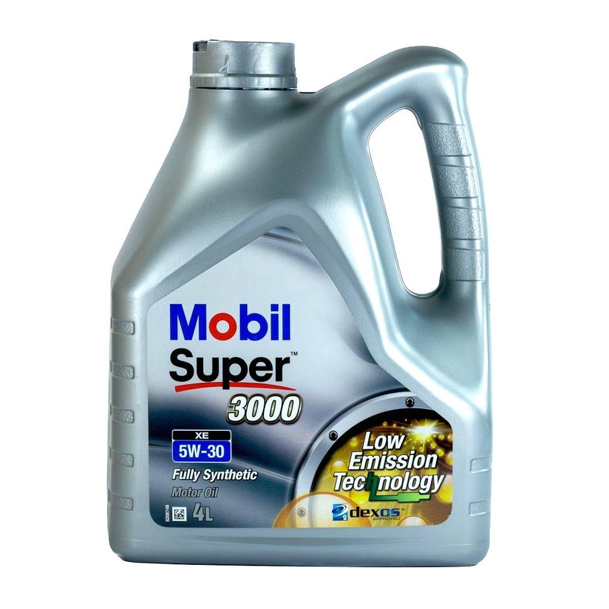 olej silnikowy mobil super 3000 xe 5w 30 4l oleje i filtry samochodowe. Black Bedroom Furniture Sets. Home Design Ideas