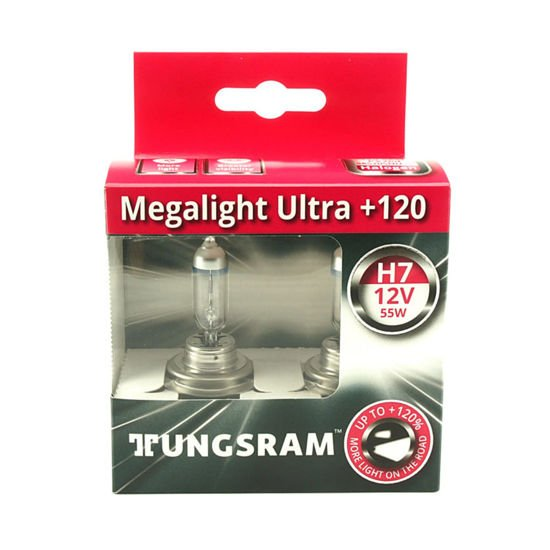 Tungsram H7 MegaLight Ultra Plus 120% - 2szt